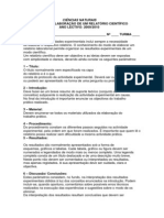 Normas Para a Elaboracao de Um Relatorio Cientifico Cap 1910 Doc