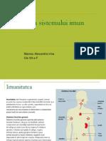 genetica sistemului imunitar