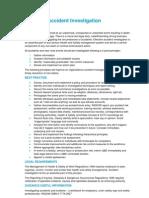 Accident Investigation QEB Standards 18