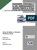 Tesina Analisis Financiero, Contable y Fiscal Del Arrendamiento Financiero