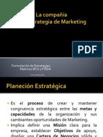 LA COMPAÑIA Y SU ESTRATEGIA DE MARKETING CCS