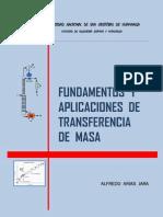 Fundamentos y Aplicaciones de Transf Masa AAJ 2da Ed