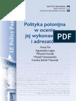 IZ PP.11.2013.Polityka Polonijna