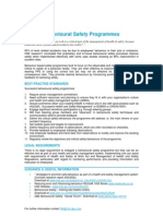 Behavioural Safety - QBE Standards-16