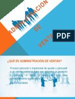 Diapositiva Ventas y Administraccion