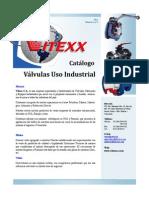Catalogo de Valvulas Ind Vitexx 2011