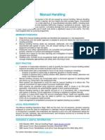 Manual Handling - QBE Standards-4