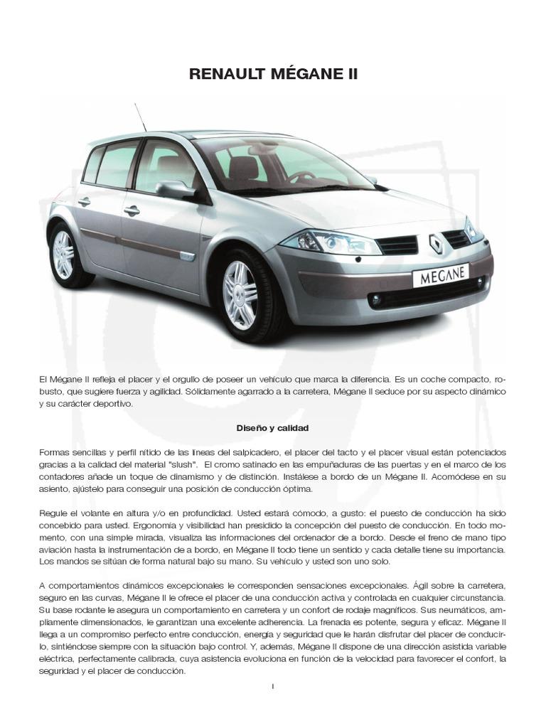Renault . repair Manual manual renault megane Manual Usuario Renault Megane  2 . ...