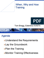 13059620 the What When Why and How for CMMI Training