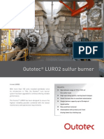 OTE Outotec LURO2 Sulfur Burner Eng Web