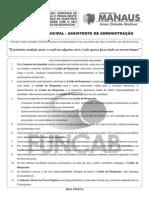 T01 V - Técnico Municipal - Assistente de Administração