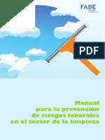 Manual para la Prevención de Riesgos Laborales en el Sector de la Limpieza