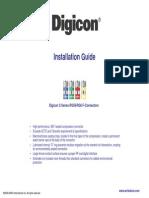 Digicon F Connector Installation Guide