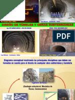 DISEÑO DE TUNELES Y OBRAS SUBTERRANEAS - Piura 2012