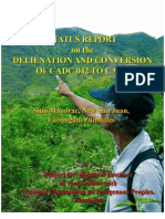 Status Report on the Alienation and Conversion of CADT 042 to CADT