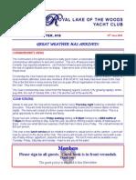 RLWYC Newsletter 29 June 2010