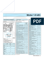 Manual de Megane II - Motor 1.9 dCi