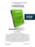 Jamie Smart - The Top 10 Secrets of NLP Coaching Language