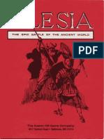 Caesar at Alesia Rules- Wargame Avalon Hill