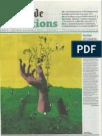 Le monde - Supplément Fondations - Page 1