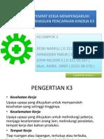 Presentase k3 Kel 5