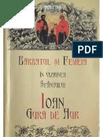 Sf Ioan Gura de Aur - Barbatul Si Femeia