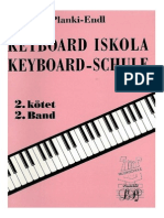 Planki - Keyboard Iskola 2. kötet