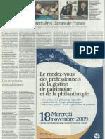 Le monde - Supplément Fondations - Page 2