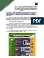 INSERTAR LIBRO ELECTRÓNICO OFF-LINE  DESDE UN PDF EN LA WEB