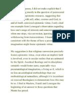 Epistemic Virtue and the Pneumatological Imagination 2