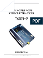 Gps Vehicle Tracker User Manual