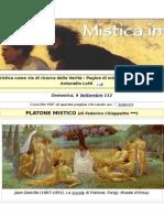 PLATONE MISTICO