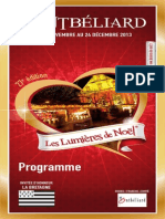Lumieres de Noel Programme 01