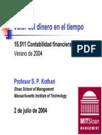Valor Del Dinero en El Tiempo - SP Khatari