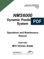 Nautronix DPS 6000 O Amp M Manual
