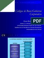 Códigos de Gobierno Corporativo - Oscar Berkemeyer