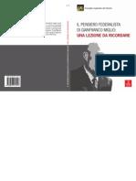 Romano - Il Pensiero Federalista Di Gianfranco Miglio