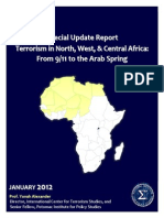 2012 Special Update Report Full Report Terrorism in Africa From 9 11 to Arab Spring Icts Potomac