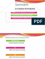 Gestion de Production 2013