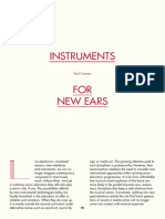 instruments for new ears (2012)