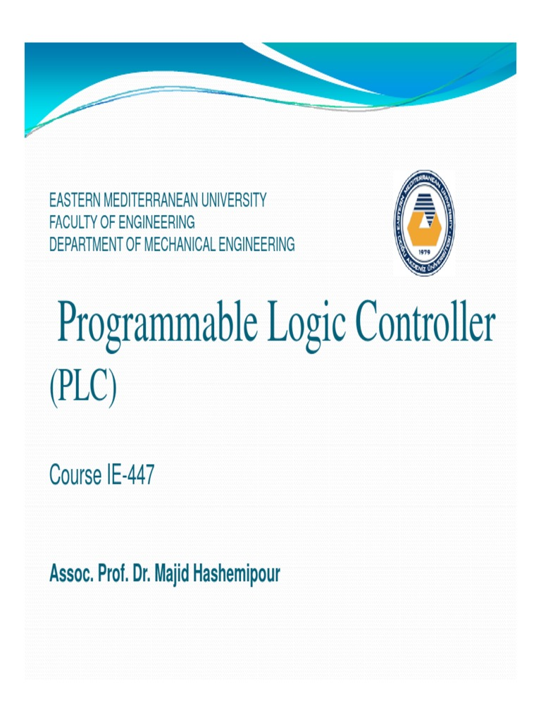Plc Ppt Programmable Logic Controller Relay Latched Circuit Example