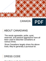 Facts About Canadians