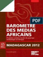 Barometre Des Medias Africains (Madagascar)