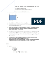 tekanan hidrostatisB