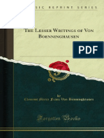 The Lesser Writings of Von Boenninghausen 1000055197