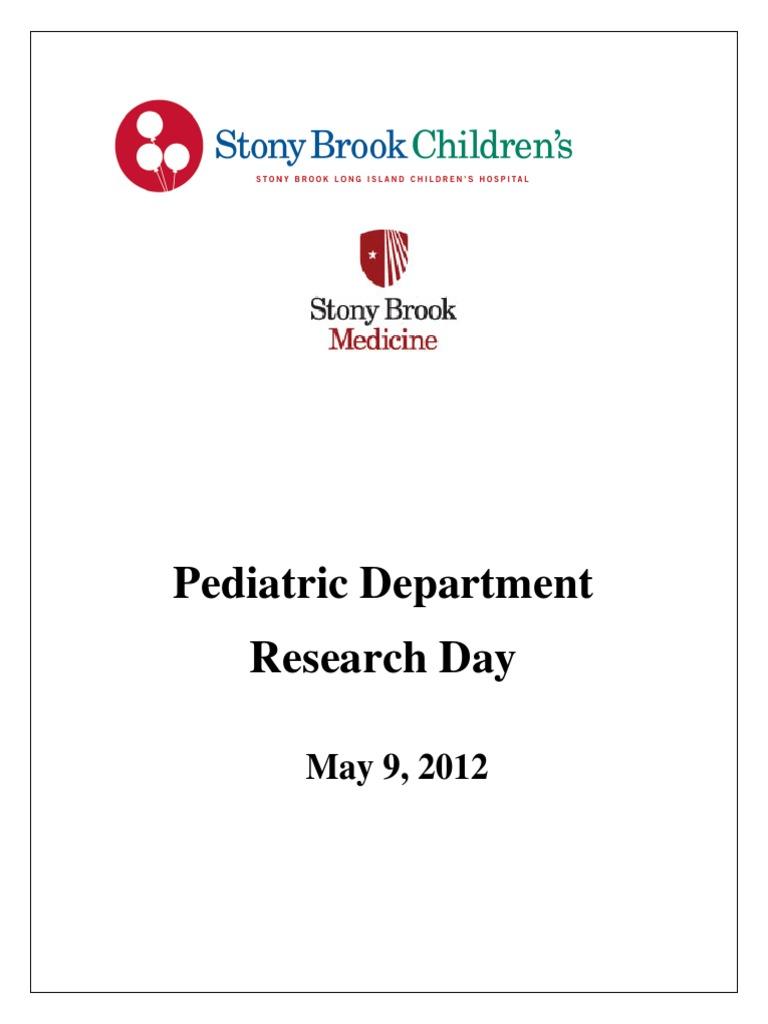 2012 Pediatric Department Research Day   Glycated Hemoglobin