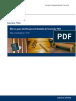 FSC STD 40 004 V2 1 Norma de Certificacao Cadeia de Custodia