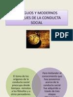 Antiguos y Modernos Enfoques de La Conducta Social