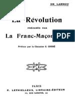 La Revolution Preparee Par La Franc-maconnerie 000000318