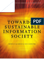Towards a Sustainable Information Society